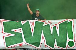 14.08.2010, Wersestadion, Ahlen, GER, Rot Weiss Ahlen vs Werder Bremen 0:4, DFB Pokal 1. Runde,  1. FBL 2010, im Bild Werder-Fans beim Pokalspiel in Ahlen. EXPA Pictures © 2010, PhotoCredit: EXPA/ nph/  Kurth+++++ ATTENTION - OUT OF GER +++++ / SPORTIDA PHOTO AGENCY