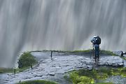 Rainy day at Dettifoss.