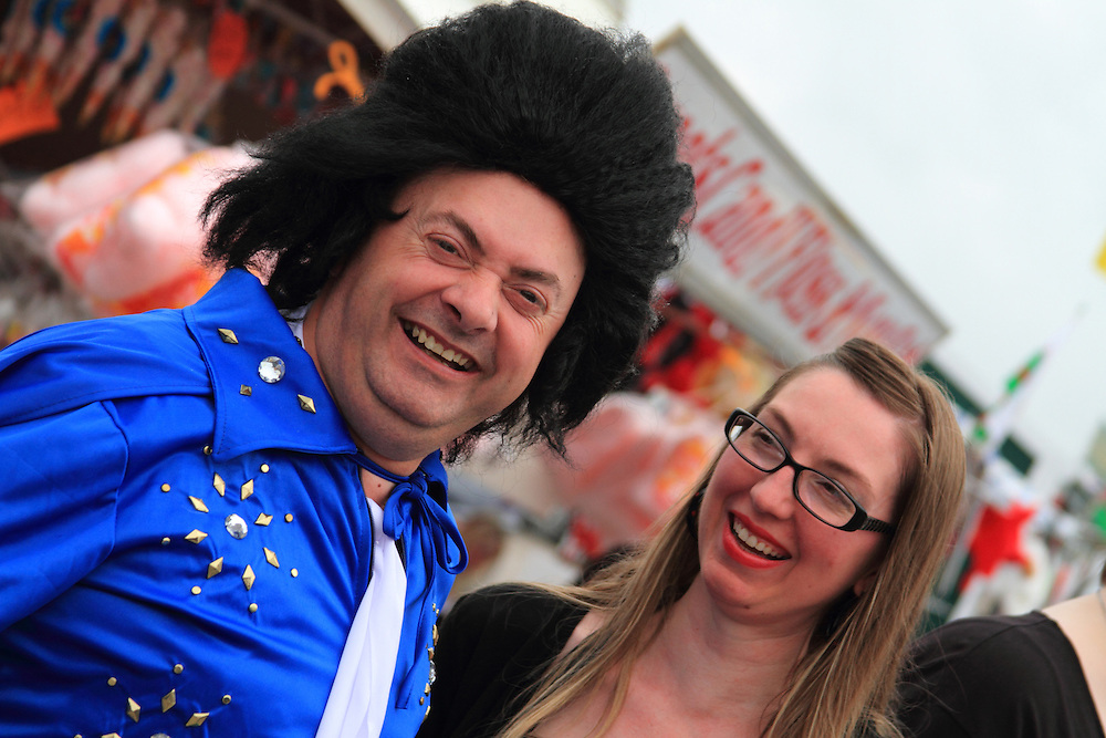 Each year the South Wales seaside town of Porthcawl is home to the Elvis Festival