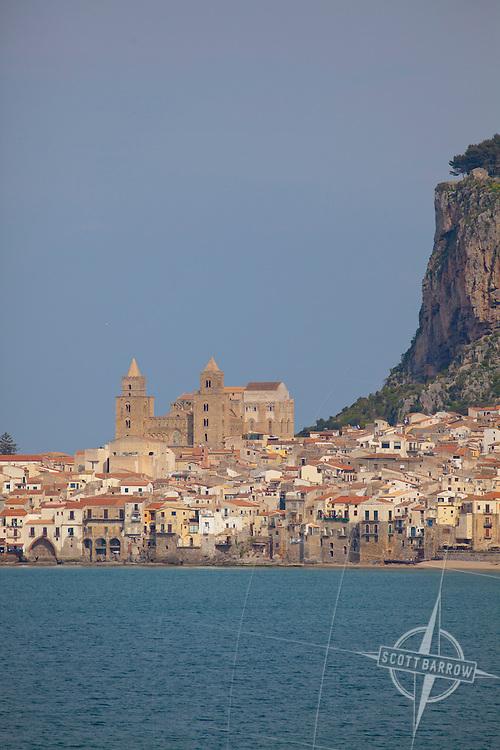 Cefalu, Italy on the island of Sicily.