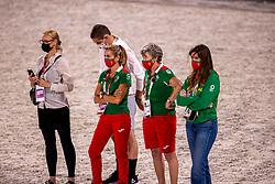 Team Portugal, Kyrklund Kyra<br /> Olympic Games Tokyo 2021<br /> © Hippo Foto - Dirk Caremans<br /> 21/07/2021