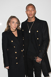 Chloe Green, Jeremy Meeks attending the Balmain Homme Menswear Fall/Winter 2018-2019 show as part of Paris Fashion Week in Paris, France on January 20, 2018. Photo by Alban Wyters/ABACAPRESS.COM