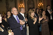 NICHOLAS COLERIDGE AND SARAH STANDING, The Tatler Travel Awards 2008. The Ritz, Piccadilly. London. 3 December 2007. -DO NOT ARCHIVE-© Copyright Photograph by Dafydd Jones. 248 Clapham Rd. London SW9 0PZ. Tel 0207 820 0771. www.dafjones.com.