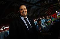 Rafael Benitez coach Napoli allenatore <br /> Napoli 31-05-2015 Stadio San Paolo Football Calcio Serie A 2014/2015 Napoli - Lazio. Foto Andrea Staccioli / Insidefoto