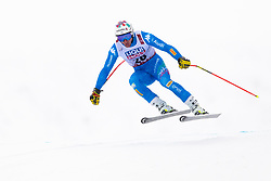 February 9, 2019 - Re, SWEDEN - 190209 Mattia Casse of Italy competes in the downhill during the FIS Alpine World Ski Championships on February 9, 2019 in re  (Credit Image: © Daniel Stiller/Bildbyran via ZUMA Press)