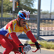 El Tour de Tucson 2015 finisher on 6th Avenue. Bike-tography by Martha Retallick.