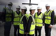 Calthorpe Estates topping out ceremony at 100 Hagley Rd in Birmingham.Picture by Shaun Fellows/Shine Pictures .