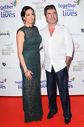 © Licensed to London News Pictures. 07/06/2017. London, UK. LAUREN SILVERMAN and SIMON COWELL attends the Together for Short Lives Midsummer Ball. Photo credit: Ray Tang/LNP