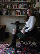 ALBA ARIKHA;, wearing Allegra Hicks. thurloe SSq. London. 12 Occcctober 2004. ONE TIME USE ONLY - DO NOT ARCHIVE  © Copyright Photograph by Dafydd Jones 66 Stockwell Park Rd. London SW9 0DA Tel 020 7733 0108 www.dafjones.com