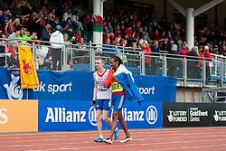 ADOLPHE Timothee, Guide FELIP Cedric, 2014 IPC European Athletics Championships, Swansea, Wales, United Kingdom