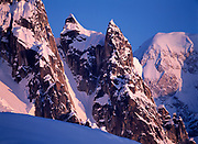 The Rooster's Comb, Ruth Gorge, Denali National Park, Alaska.