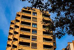 Modern housing in the Boulevard de Strasbourg, Toulouse, FRance<br /> <br /> (c) Andrew Wilson | Edinburgh Elite media