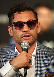 Chris Algieri during the undercard press conference at Madison Square Garden, New York.