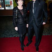 NLD/Rotterdam/20121129 - Premiere Hans Klok Experience show, Lee Towers en partner Laura