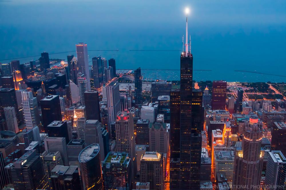 Willis Tower Illuminated