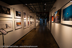 Michael Lichter exhibition at the Ace Cafe in Orlando during Daytona Bike Week. FL. USA. Tuesday March 13, 2018. Photography ©2018 Michael Lichter.