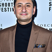 Manj Gill attend TriForce Short Festival, on 30 November 2019, at BFI Southbank, London, UK.