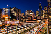 King Street Station & 4th Avenue, Downtown Seattle