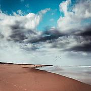 Beach near Contis-Plage on the French Atlantic coast