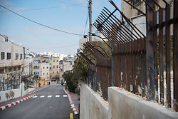 2 March 2020, Hebron: Fence near the Tel Rumeida settlement in Hebron, West Bank.