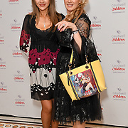 Rhea Elliot-Jones and Anna Mazzotta attends the Children's charity hosts fashion and beauty lunch event, with live entertainment at The Dorchester, London, UK. 12 October 2018.