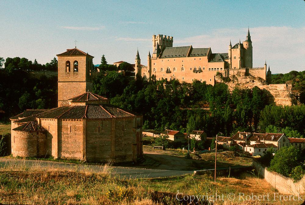 SPAIN, CASTILE, SEGOVIA Knights Templar, Vera Cruz Church