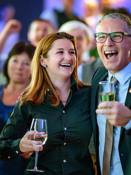 22.04.2018, Salzburg, AUT, Salzburger Landtagswahl, Wahlparty, im Bild FPÖ Spitzenkandidatin Marlene Svazek // during the election party of FPÖ for the state election 2018 at the Salzburg, Austria on 2018/04/22. EXPA Pictures © 2018, PhotoCredit: EXPA/ JFK