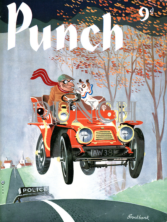 Punch (Front covers, 17 October 1956)