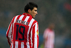 12.05.2010, Hamburg Arena, Hamburg, GER, UEFA Europa League Finale, Atletico Madrid vs Fulham FC im Bild Jose Antonio Reyes, #19, Atletico Madrid, EXPA Pictures © 2010, PhotoCredit: EXPA/ J. Feichter / SPORTIDA PHOTO AGENCY
