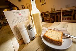 The slice of lemon loaf. Pillars of Hercules, Falkland, Fife, Tam Cowan review