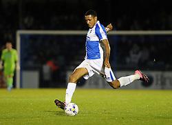 Cristian Montano of Bristol Rovers - Mandatory byline: Neil Brookman/JMP - 07966 386802 - 06/10/2015 - FOOTBALL - Memorial Stadium - Bristol, England - Bristol Rovers v Wycombe Wanderers - JPT Trophy