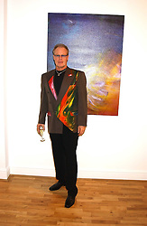 Artist JEFFREY KROLL at an exhibition of art by Jeffrey Kroll entitled Imirage held at the Arndean Gallery, Cork Street, London on 19th October 2005.<br /><br />NON EXCLUSIVE - WORLD RIGHTS