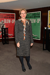 """CAROLINE MICHEL at a private screening Of """"The Gun, The Cake and The Butterfly"""" hosted by Amanda Eliasch at The Bulgari Hotel, 171 Knightsbridge, London on 24th March 2014."""