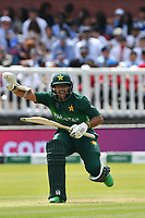 Cricket - 2019 ICC Cricket World Cup - Group Stage: Pakistan vs. Bangladesh<br /> <br /> Imam-ul-Haq calls a halt to a run on 99<br /> at Lord's<br /> <br />  colorsport/winston bynorth