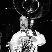 NEW ORLEANS, LA – OCTOBER 28, 2009: Live music is performed at d.b.a. on Frenchmen Steret.