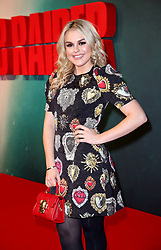 Tallia Storm attending the Tomb Raider European Premiere held at Vue West End in Leicester Square, London.