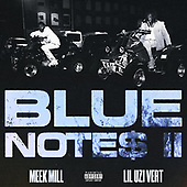 """September 01, 2021 - WORLDWIDE: Meek Mill and Lil Uzi """"Blue Notes 2"""" Single Release"""