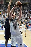 DESCRIZIONE : Bologna LNP DNB Adecco Silver GironeA 2013-14 Fortitudo Bologna Basket Cecina<br /> GIOCATORE : De Min Thomas  <br /> SQUADRA : Fortitudo Bologna <br /> EVENTO : LNP DNB Adecco Silver GironeA 2013-14<br /> GARA :  Fortitudo Bologna Basket Cecina <br /> DATA : 05/01/2014<br /> CATEGORIA : Tiro<br /> SPORT : Pallacanestro<br /> AUTORE : Agenzia Ciamillo-Castoria/A.Giberti<br /> Galleria : LNP DNB Adecco Silver GironeA 2013-14<br /> Fotonotizia : Bologna LNP DNB Adecco Silver GironeA 2013-14 Fortitudo Bologna Basket Cecina<br /> Predefinita :
