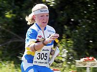 Orientering, 21. juni 2002. NM sprint. Anne Marie Bleken, Bækkelaget.