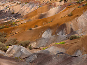 The Painter Palette, a volcanic formation near the airport area.
