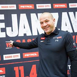 20150224: SLO, Boxing - Press conference of Dejan Zavec aka Jan Zaveck