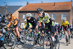 Jermain Post gets out the saddle to put the power down - 2016 Omloop van het Hageland - Tielt-Winge, a 129km road race starting and finishing in Tielt-Winge, on February 28, 2016 in Vlaams-Brabant, Belgium.