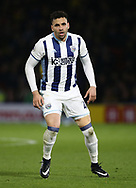 WBA's Hal Robson-Kanu in action during the Premier League match at Vicarage Road Stadium, London. Picture date: April 4th, 2017. Pic credit should read: David Klein/Sportimage