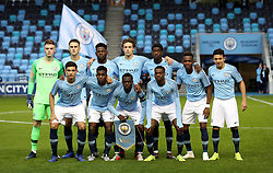 The Manchester City U19 team before their match against Shakhtar Donetsk