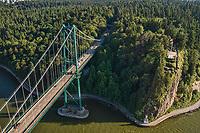 Lions Gate Bridge & Prospect Point, Stanley Park