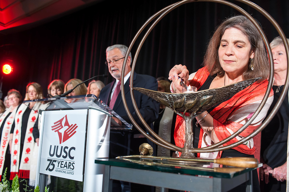 The Unitarian Universalist Service Committee celebrates its 75th anniversary.