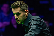 Action from the opening frames between Mark Selby Vs Mark Joyce during the Evening Session on the opening day of the 19.com Scottish Open Snooker Championships at the Emirates Arena  Glasgow, Scotland on 9 December 2019.