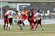 Waikato goalkeeper Alex Carr catches the ball. NZFC Championship Soccer - Waikato v Canterbury, Centennial Park, Ngaruawahia. Sunday, 24 January 2010. Photo: Geoffrey Dickinson/PHOTOSPORT