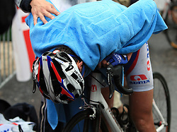 Tired Robert Kiserlovski of Croatia (Adria Mobil) placed third at 3rd stage of the 15th Tour de Slovenie from Skofja Loka to Krvavec (129,5 km) , on June 13,2008, Slovenia. (Photo by Vid Ponikvar / Sportal Images)/ Sportida)