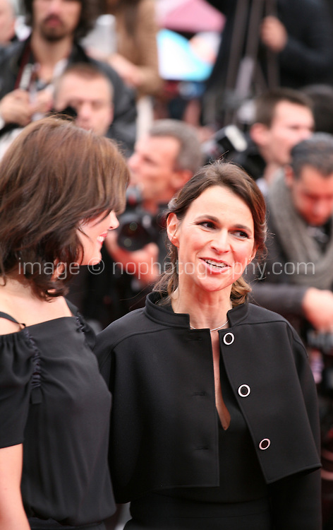 Marina Hands, actress, Aurelie Filippetti, arriving at the Vous N'Avez Encore Rien Vu gala screening at the 65th Cannes Film Festival France. Monday 21st May 2012 in Cannes Film Festival, France.